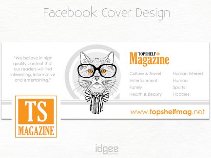 Facebook Cover Design TopShelf