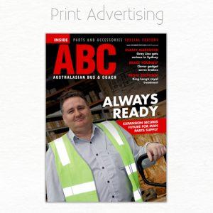 Magzine Print Advertisment Design