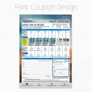 Print Coupon Design