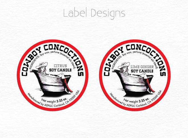Label and Sticker Design