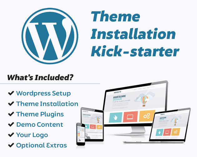 Wordpress and Theme Installation Narre Warren Melbourne