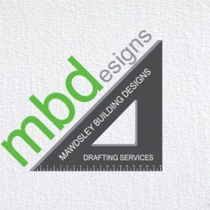 Mawdsley-building-designs-logo-design