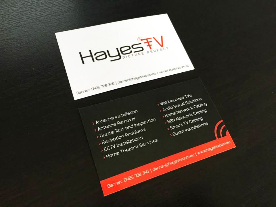 Website Design Berwick | Business Cards | Signage | Hayes TV