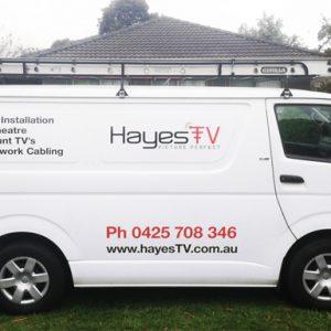 Hayes-TV-Berwick-Car-Signage
