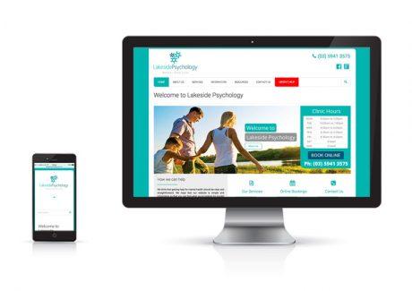 Website Design Lakeside Psychology Pakenham