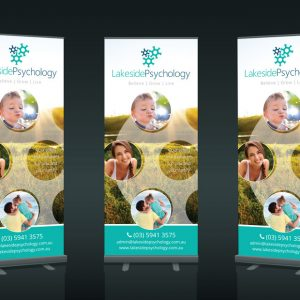 Pull up Banner Design Pakenham Lakeside Psychology