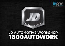 JD-Automotive-Workshop-Hallam-Logo-Design
