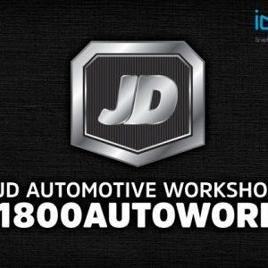 JD-Automotive-Workshop-Hallam-Logo-Design