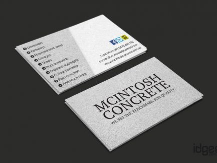 Business Card Design Narre Warren - Macintosh Concrete