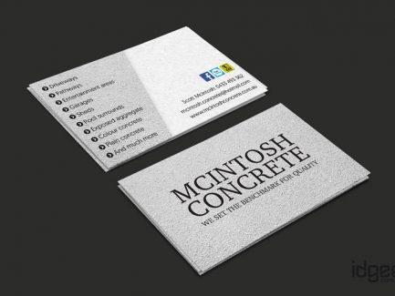 Business Card Design Narre Warren - Macintosh Concrete