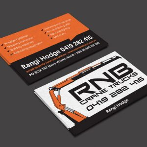 RNB-Crane-Trucks-Narre-Warren - Business Card Design