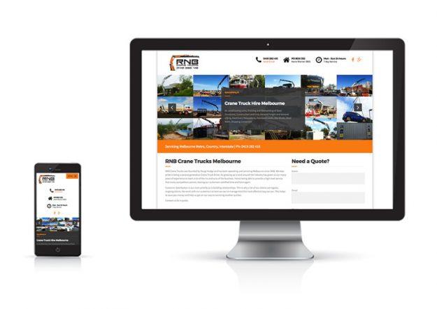 RNB-Crane-Trucks-Website-Design
