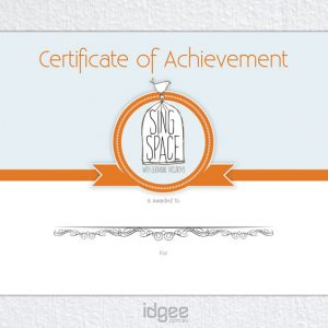 Certificate-Design-Camberwell-Sing-Space-Lessons