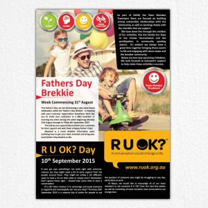 Flyer Design Narre Warren - Fathers-Day-and-RUOK-Flyer-for-Repco