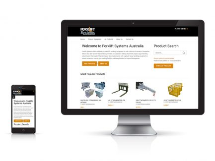 Forklift-Systems-Website-Design-Melbourne
