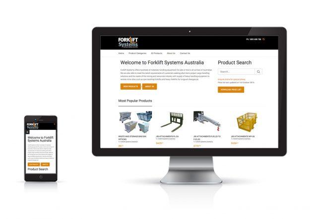 Forklift-Systems-Website-Design-Melbourne
