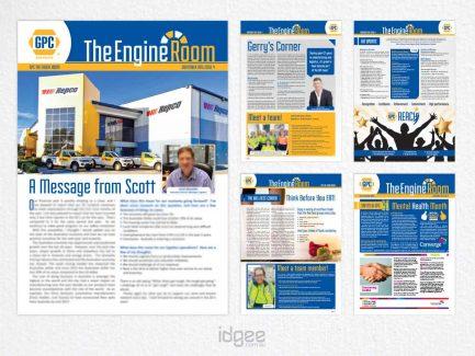 Newsletter Design Narre Warren - GPC-The-Engine-Room-Issue-4