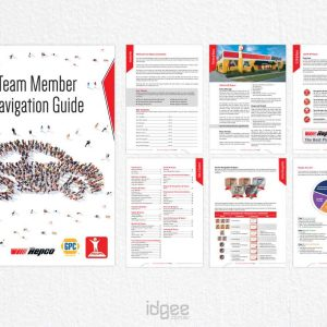 A5 Booklet Design Narre Warren Repco-and-GPC--Team-Member-Navigation-Guide